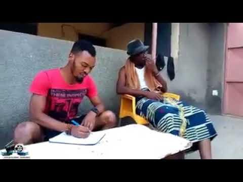 Quand un vieux Baoulé demande son fils d'écrire une lettre voici ce que sa donne