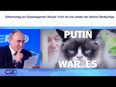 Giftanschlag auf Doppelagenten Skripal: Putin ist mal wieder der übliche Verdächtige