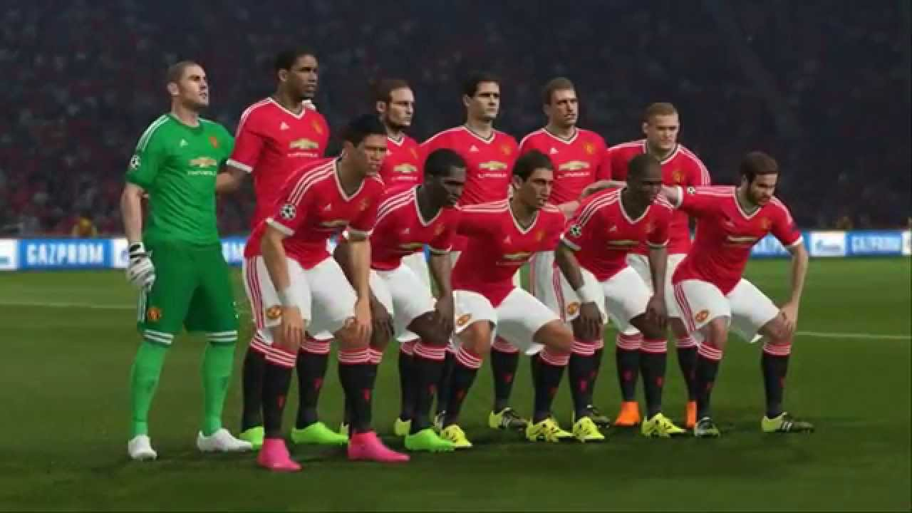 (PS4) PES 2016 Manchester United vs Manchester City GAMEPLAY 1080p