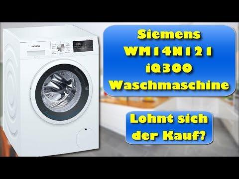 siemens-iq300-waschmaschine-kaufen-oder-nicht?-siemens-wm14n121-iq300-waschmaschine-test