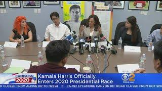 Sen. Kamala Harris Running For President In 2020