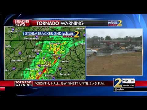 Metro Atlanta tornado damage
