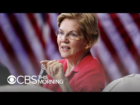 Elizabeth Warren defends claim that she was fired over pregnancy