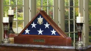American Made Flag Display Cases... For American Heroes