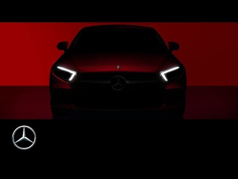 The brand-new Mercedes-Benz CLS 2018  Teaser  Exterior Design