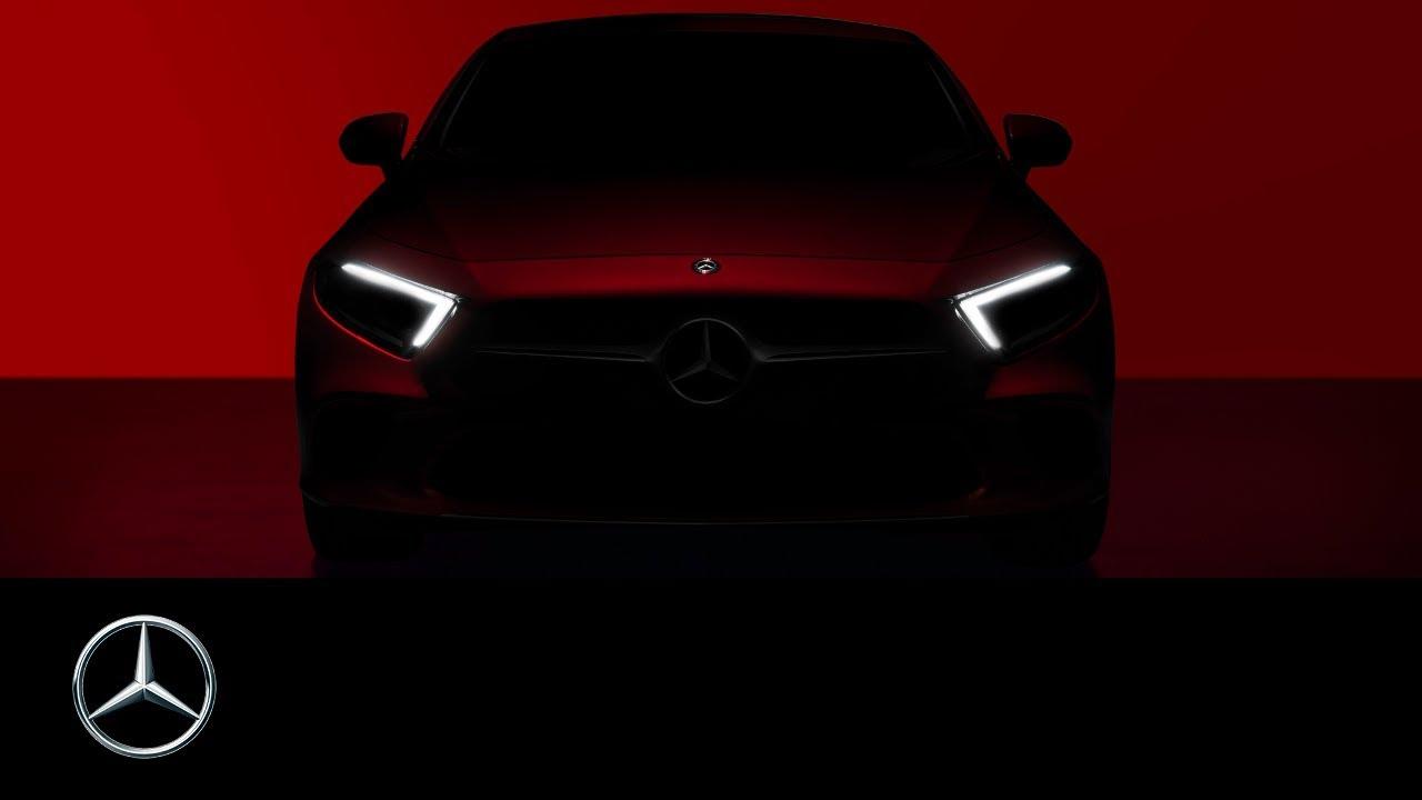 The Brand New Mercedes Benz Cls 2018 Teaser Exterior Design