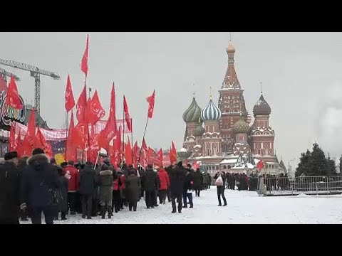 شاهد: الشيوعيون في روسيا يحيون الذكرى الـ95 لرحيل لينين  - نشر قبل 2 ساعة