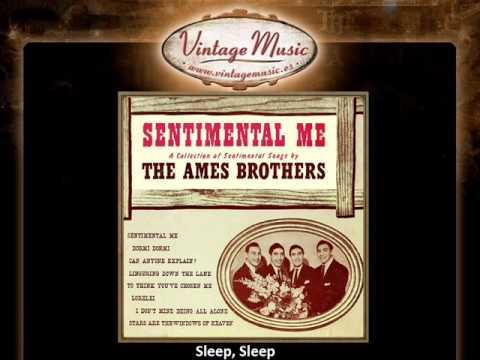 The Ames Brothers -- Sleep, Sleep (VintageMusic.es)