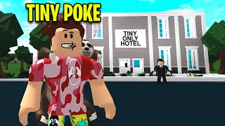 I Found A TINY HOTEL.. So I Went Undercover! (Roblox)