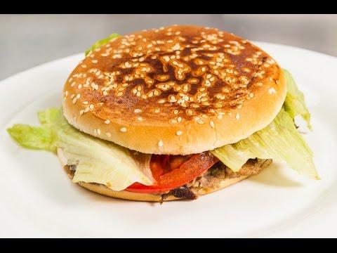 гамбургер без котлет рецепт