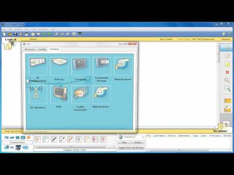 Packet Tracer Tutorial #1