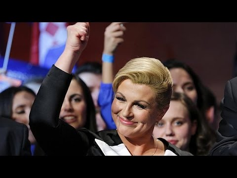 Croatie : Kolinda Grabar Kitarovic, Première Femme élue Présidente