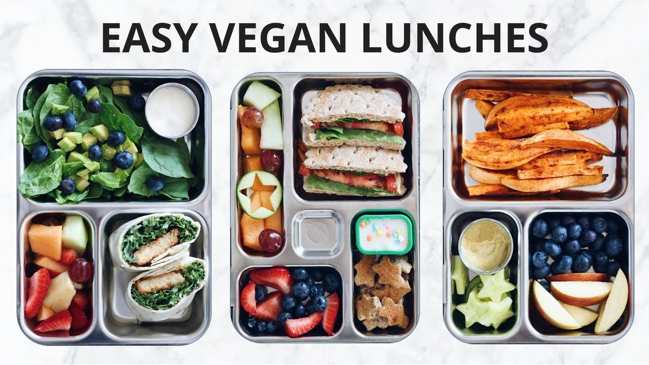 easy vegan school lunch ideas in a bento box youtube. Black Bedroom Furniture Sets. Home Design Ideas