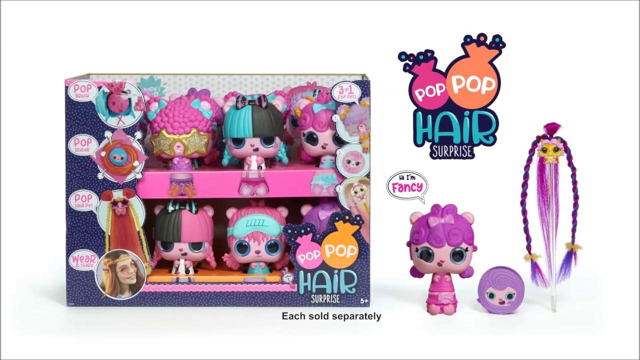 Pop Pop Hair Surprise Commercial