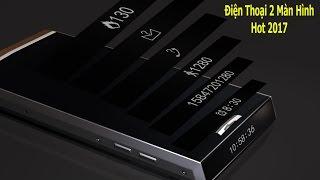 Trên tay điện thoại 2 màn hình DCO T3 độc đáo nhất 2017