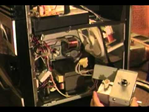 Ge Microwave Magnetron Replacement And Component Testing