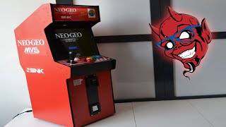 Ultimate Neo Geo Mini Collectible and Playable Cabinet from Play Minimal