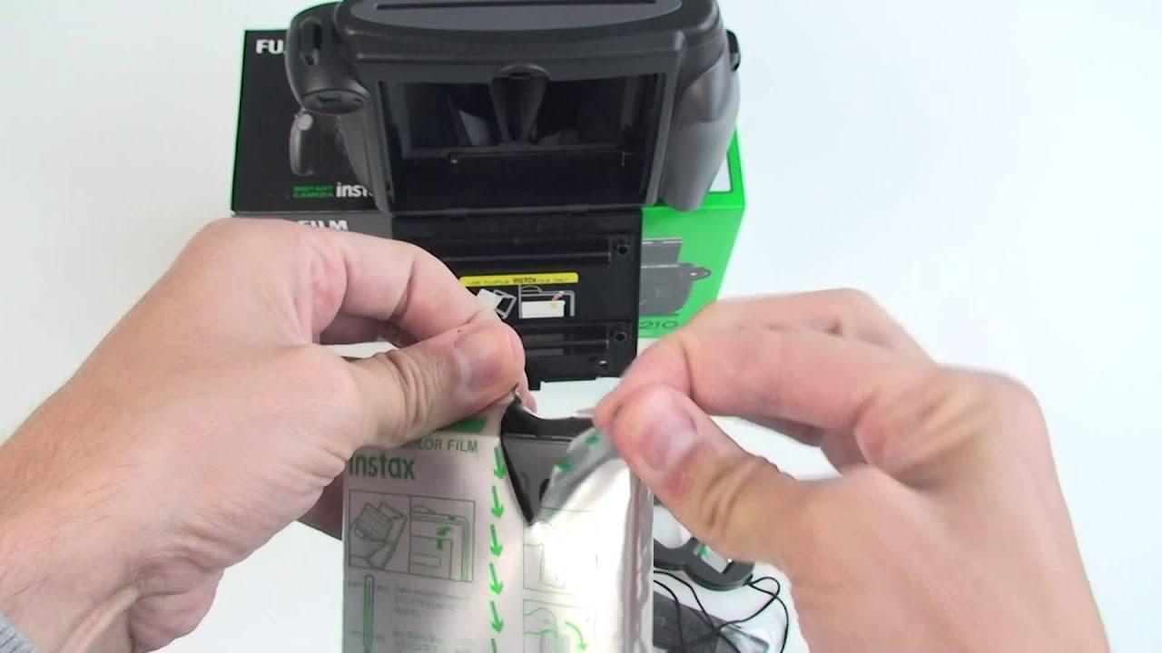FUJIFILM Instax 210 Sofortbildkamera Hands On Test