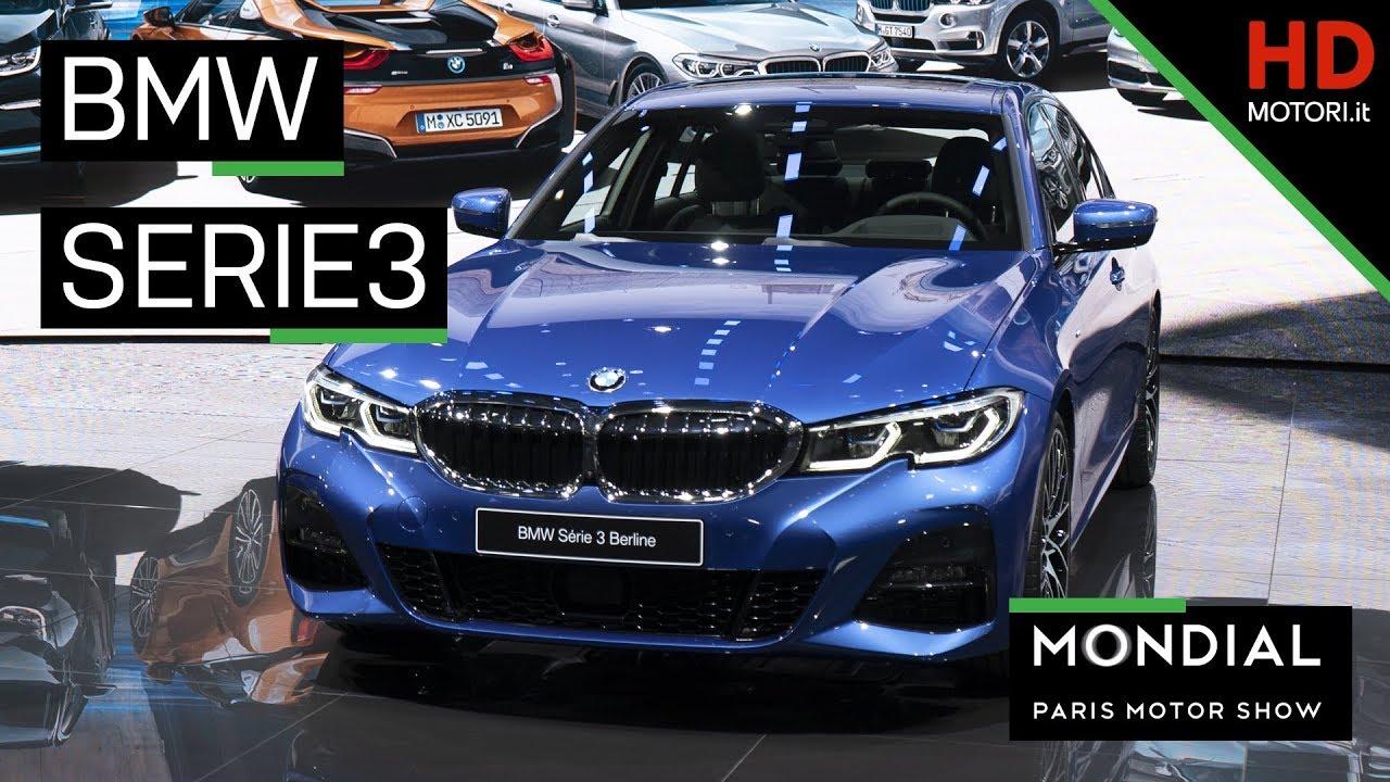 BMW SERIE 3 (2019): la nuova berlina a Parigi è anche IBRIDA #1