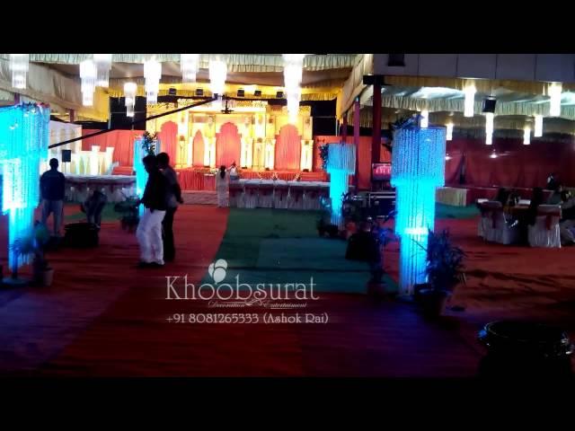 Reception Decoration at balrampur garden, lucknow