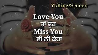 Love You | Ekam Bawa Romantic WhatsApp Status