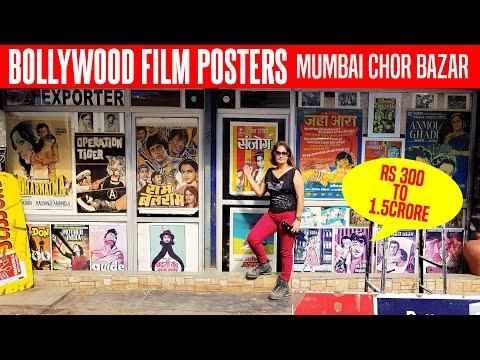 Film Posters: Hollywood & Bollywood In Mumbai CHOR BAZAAR   Where To Buy   Chor Bazaar Vlog