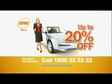 One Direct Car Insurance Ad (2008) - featuring Trish Lynch