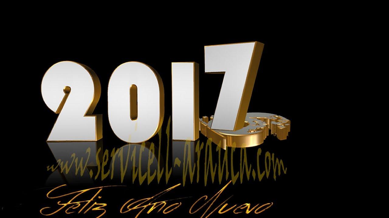 FELIZ AÑO NUEVO 2017 COLEGAS LES DESEA SERVICELL-ARAUCA - YouTube