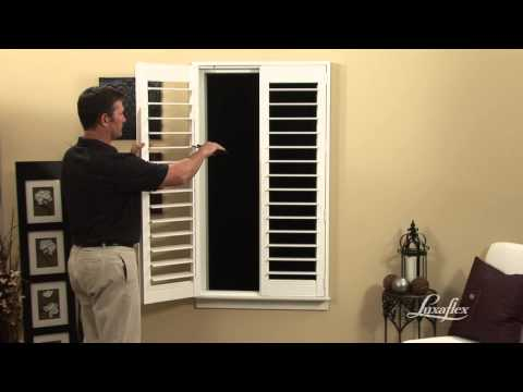 Luxaflex Shutter Installation - Creating Multiple Louver Sections
