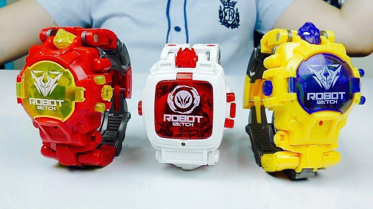 Игрушки для мальчиков. Часы ТРАНСФОРМЕРЫ и Оптимус Прайм из Мультика Transformers Prime
