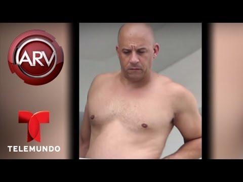 Vin Diesel fuera de forma según fotos en Miami Beach | Al Rojo Vivo | Telemundo