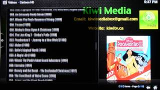 Finding childrens content with a Kiwi Media Box