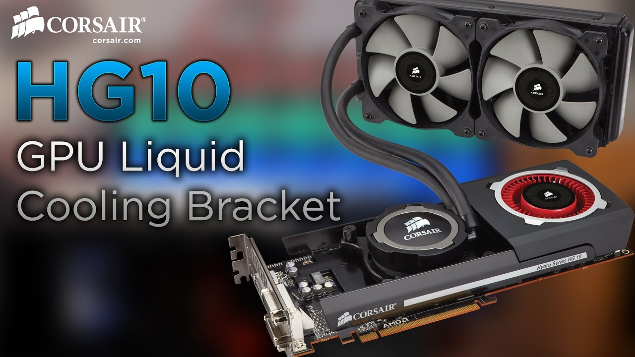 Hydro Series™ HG10 A1 GPU Liquid Cooling Bracket