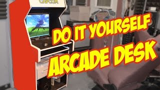 How To Diy Desk Arcade Style