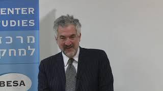 Daniel Pipes, BESA Center, 27 November 2018