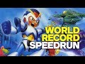 Mega Man X World Record Speedrun