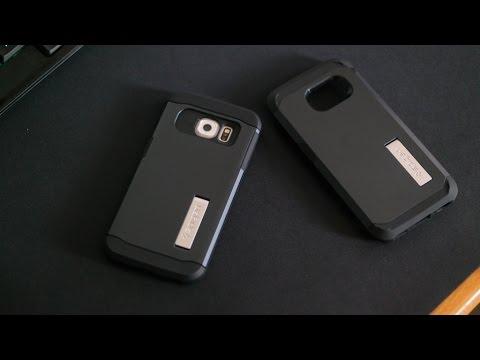 free shipping c5d1d 290f3 Spigen Tough & Slim Armor Galaxy S6 Edge Case Review
