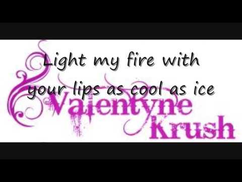 Full Song - Valentyne Krush - Hold Tight  (Lyrics) (New Famous Footwear Commercial Song) 2009