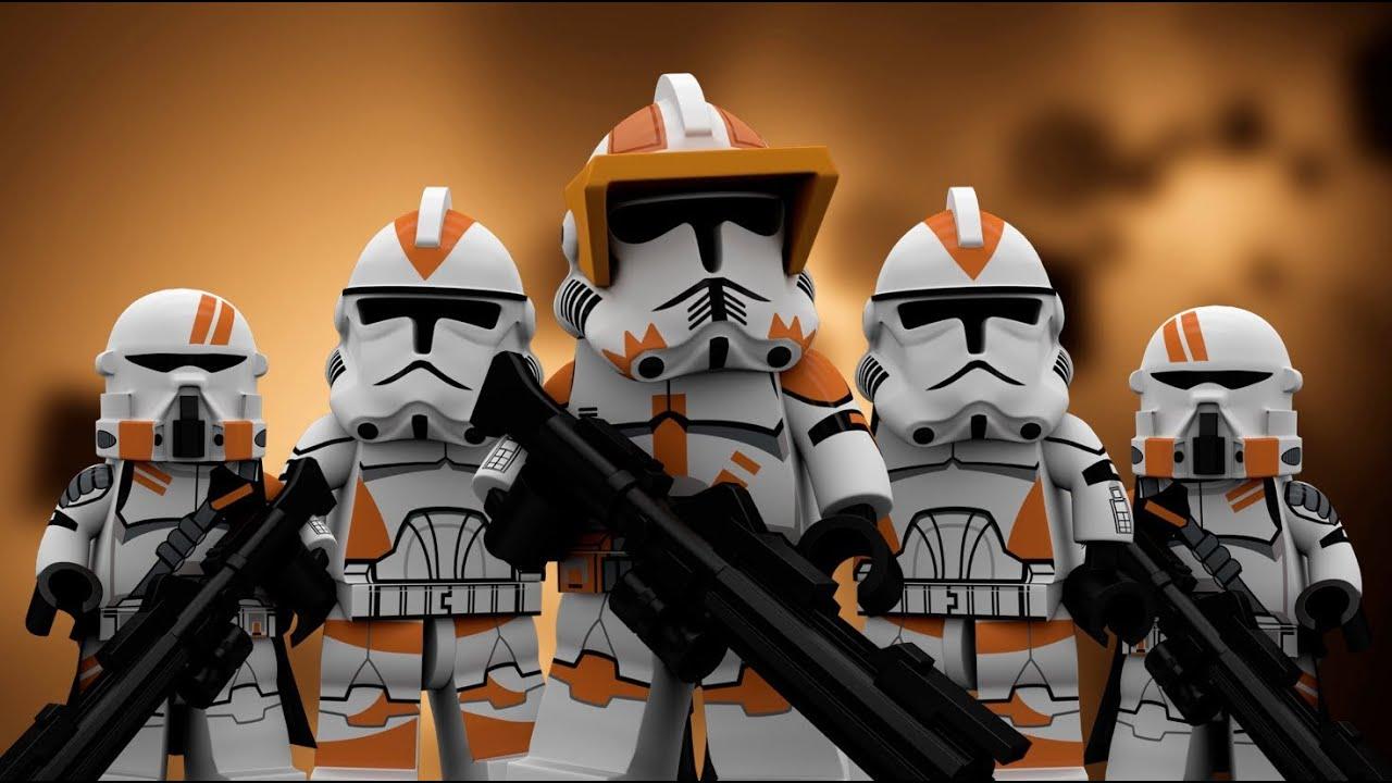 lego star wars 212th battalion clone series highlight