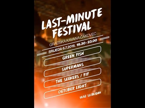 Last Minute Festival 2016 (Live Stream)