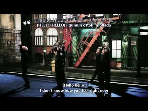 SHINee - Hello [Hangul + Romanization + Eng Sub] MV