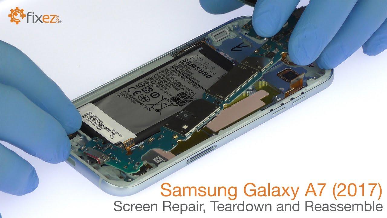 Samsung Galaxy A7 (2017) - Screen Repair, Teardown and Reassemble