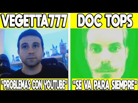 5 YOUTUBERS QUE DEJARAN YOUTUBE PRONTO   DOC TOPS, VEGETTA777, RUBIUS Y MAS!