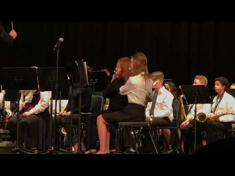 QCSD Strayer Middle School Wind Symphony 04/10/18