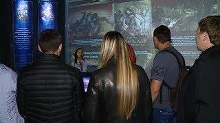 Смотреть видео Волгоградский музей «Россия. Моя история» отметил первый день рождения онлайн