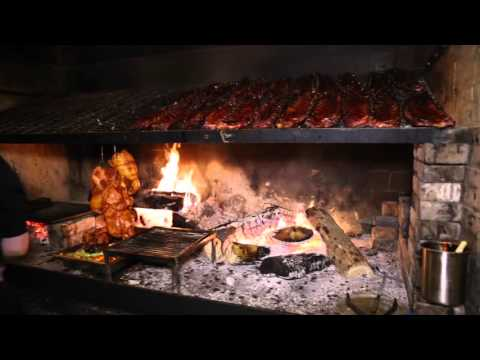 The Grandest Fire Pit In North America Is At Mercuri Montreal Restaurant