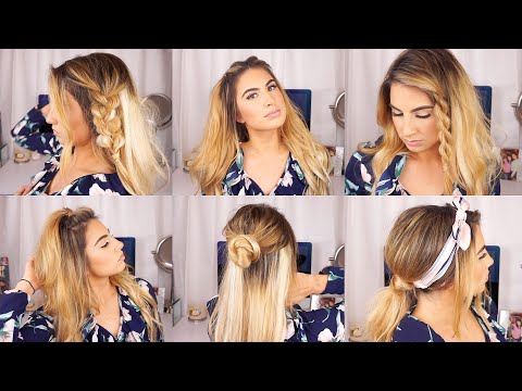 CUTE AND EASY HAIRSTYLES FOR THIN HAIR W/ EXTENSIONS from YouTube · Duration:  8 minutes 1 seconds