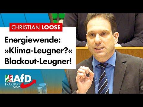 »Klima-Leugner?« Blackout-Leugner! – Christian Loose (AfD)