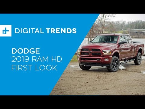 Move mountains with the 2019 Ram Heavy Duty and its 1,000 pound feet of torque