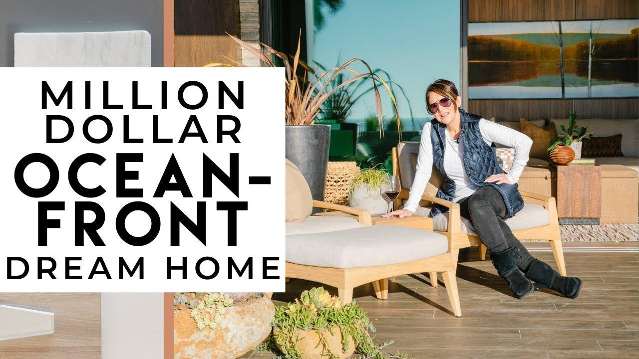 INTERIOR DESIGN | Million Dollar Oceanfront Dream Home